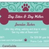 Dog Walker, Pet Sitter in College Station