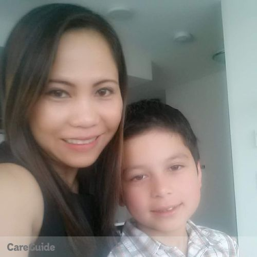 Canadian Nanny Provider Rowena Maranan's Profile Picture