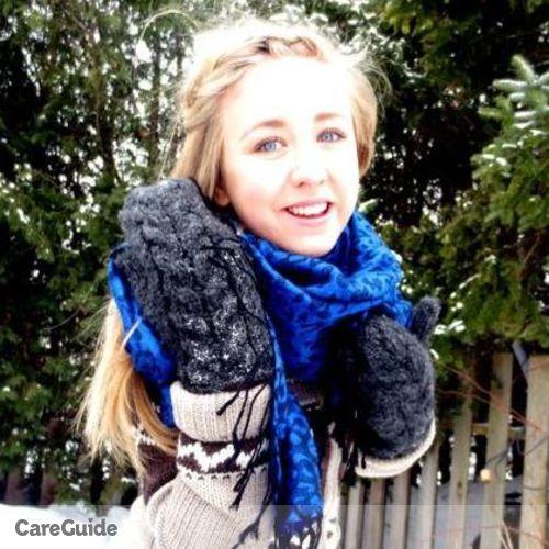 Canadian Nanny Provider Morgan Tessier's Profile Picture