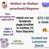 Mother To Mother 24 Care