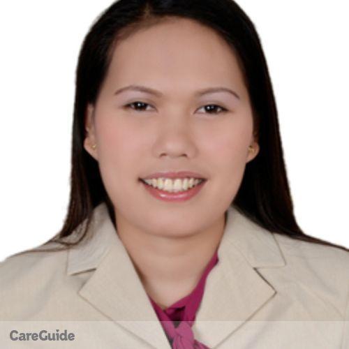 Canadian Nanny Provider Jengilyn Pedrozo's Profile Picture