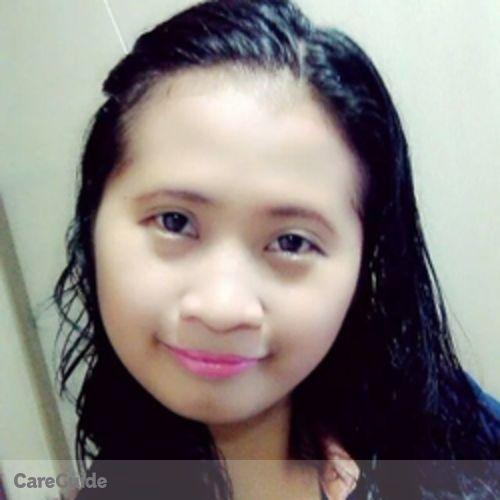 Canadian Nanny Provider Jine San Jose's Profile Picture