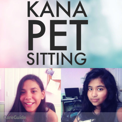 Pet Care Provider Nahian and Keyna H's Profile Picture