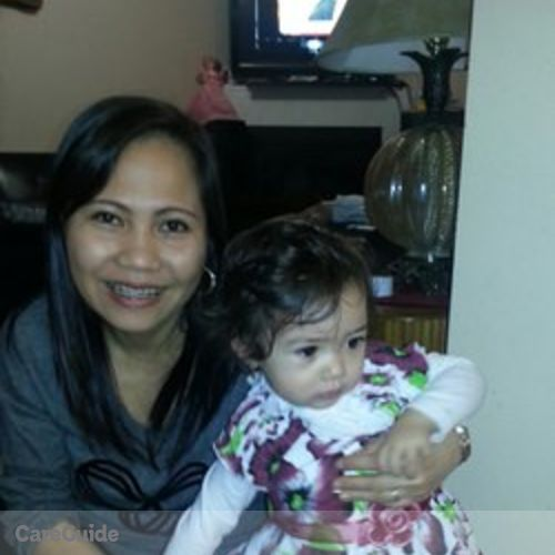 Canadian Nanny Provider Wena M's Profile Picture