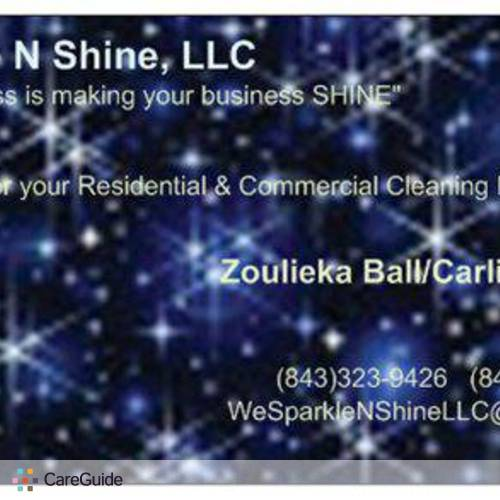Housekeeper Provider Zoulieka Ball's Profile Picture