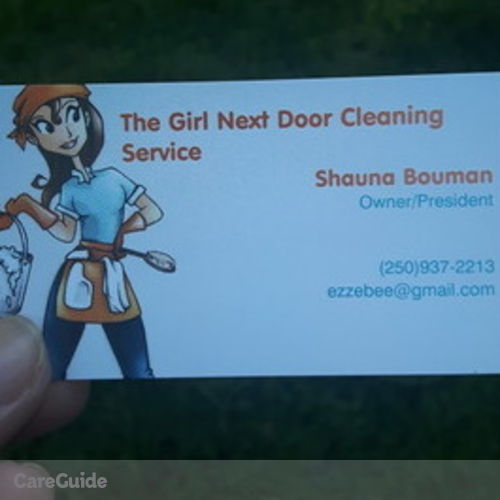 Housekeeper Provider Shauna Bouman's Profile Picture