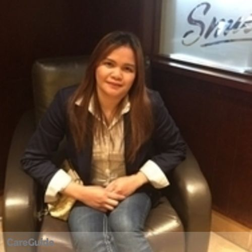 Canadian Nanny Provider Claudine Francisco's Profile Picture