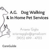 Dog Walker, Pet Sitter in Milton