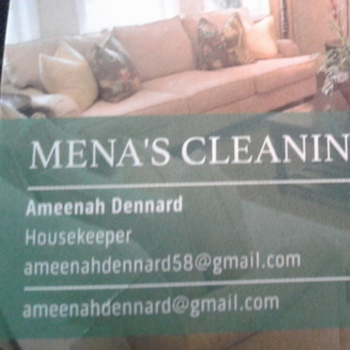 Housekeeper Provider Ameenah Dennard's Profile Picture