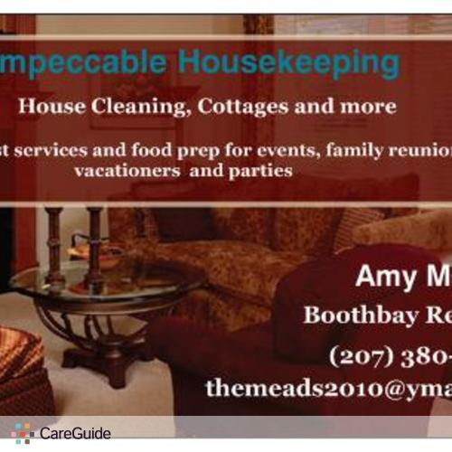 Housekeeper Provider Amy Mead's Profile Picture