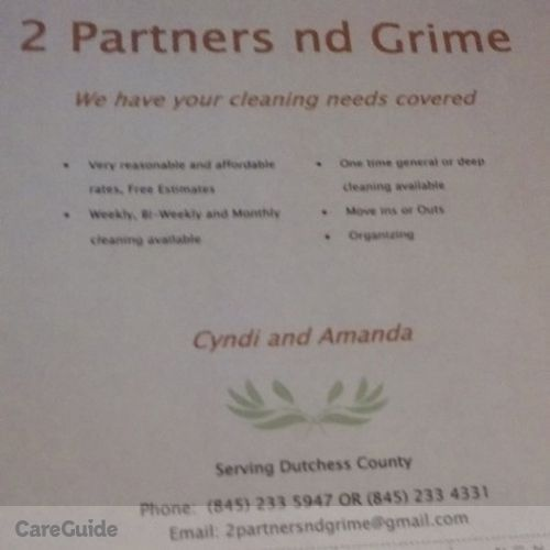 Housekeeper Provider Amanda & Cyndi 2 Partners nd Grime's Profile Picture