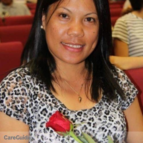 Canadian Nanny Provider Myrna Buahon's Profile Picture