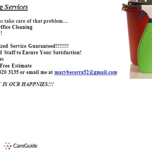 Housekeeper Provider ST Maria Cleaning Services Becerra's Profile Picture