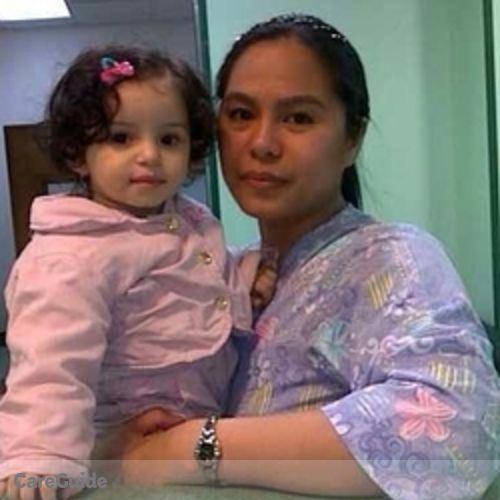 Canadian Nanny Provider Elvira Aguinaldo's Profile Picture