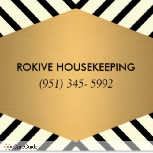 Housekeeper Provider Jenny Rokive's Profile Picture