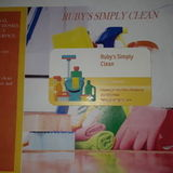 Ruby's Simply Clean , We'll Simply Clean It For Ya'