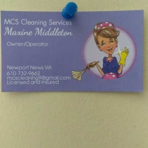 Housekeeper Provider Maxine Middletown's Profile Picture