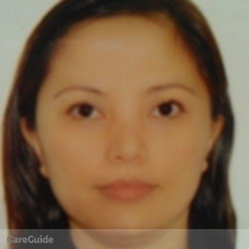 Canadian Nanny Provider Lyna Manzano's Profile Picture