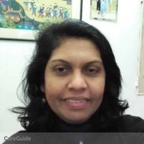 Canadian Nanny Provider Yamuna Sarojini G's Profile Picture