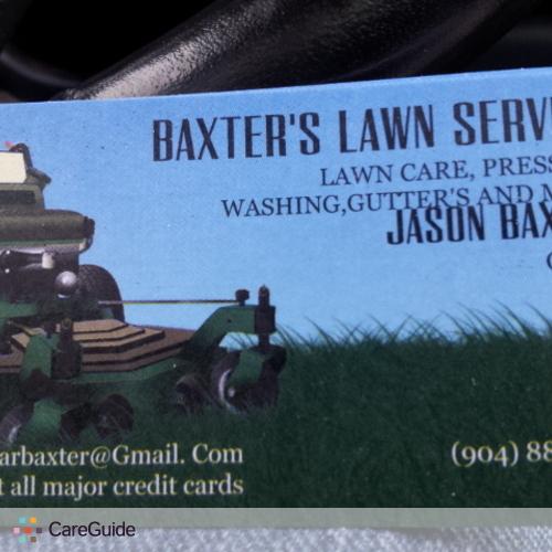 Landscaper Provider Jason Baxter's Profile Picture