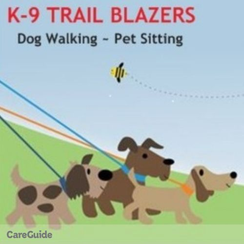 Pet Care Provider K-9 Trail Blazers Dog Walking & Pet Sitting S's Profile Picture