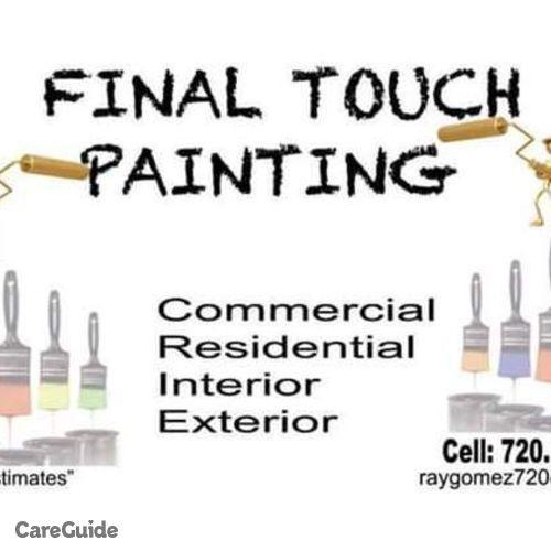 Painter Provider Eder G's Profile Picture