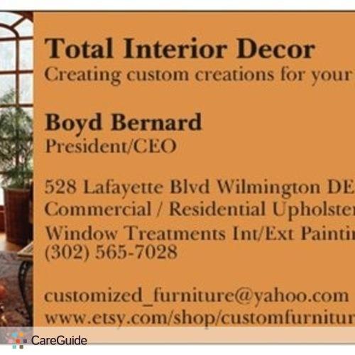Painter Provider Boyd Bernard's Profile Picture
