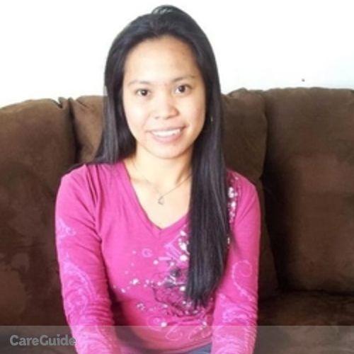 Canadian Nanny Provider Shonie Bunagan's Profile Picture