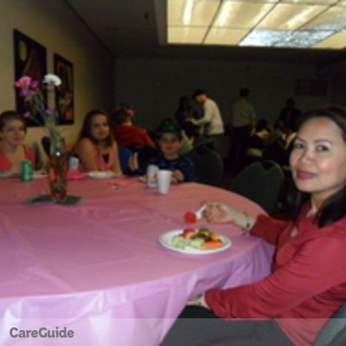 Canadian Nanny Provider Gina Mabayambang's Profile Picture