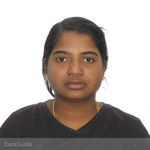 Canadian Nanny Provider Surya Prabha Pv's Profile Picture