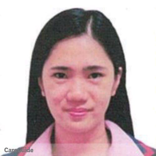 Canadian Nanny Provider Kristine Mendoza's Profile Picture