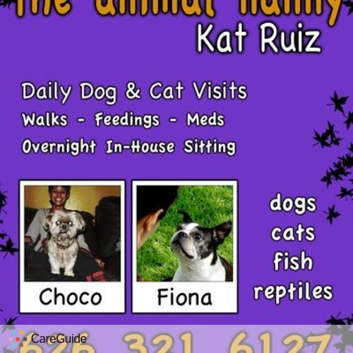 Pet Care Provider Kat Ruiz's Profile Picture