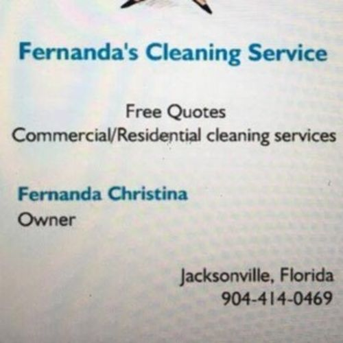 Housekeeper Provider Fernanda Ccris's Profile Picture