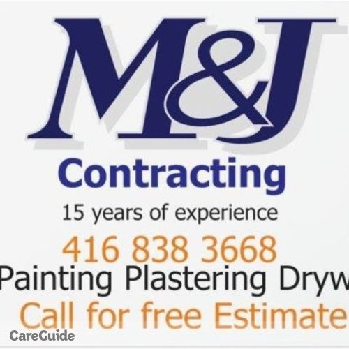 Painter Provider M & J Contracting's Profile Picture