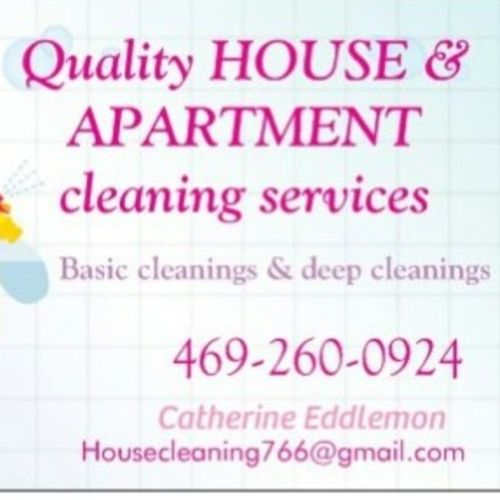 Housekeeper Provider Catherine E's Profile Picture