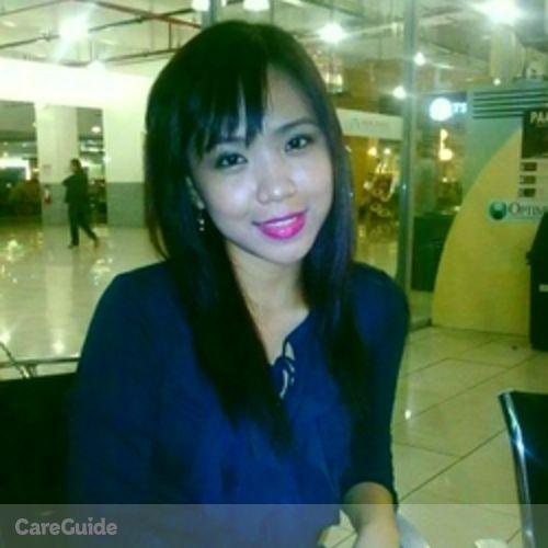 Canadian Nanny Provider Hazel Mae R's Profile Picture