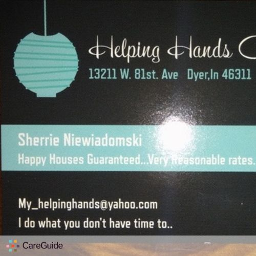 Housekeeper Provider Sherrie N's Profile Picture