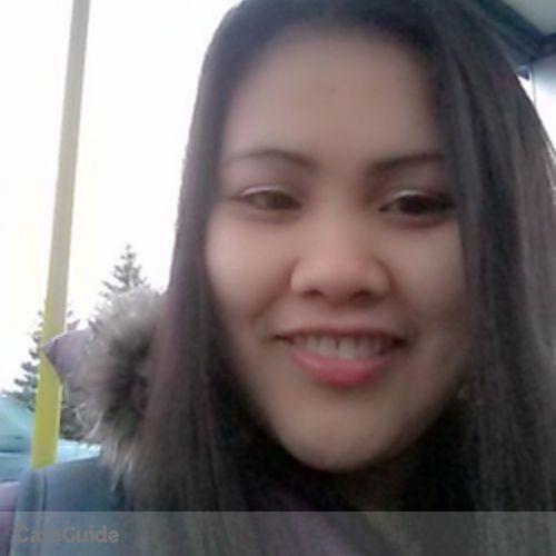 Canadian Nanny Provider Richelle Matias's Profile Picture