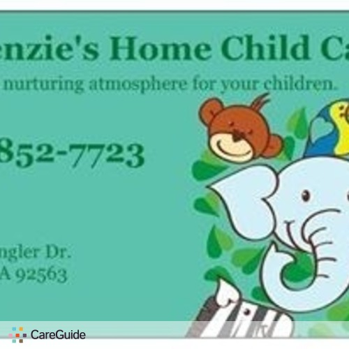 Child Care Provider Mirze McKenzie's Profile Picture