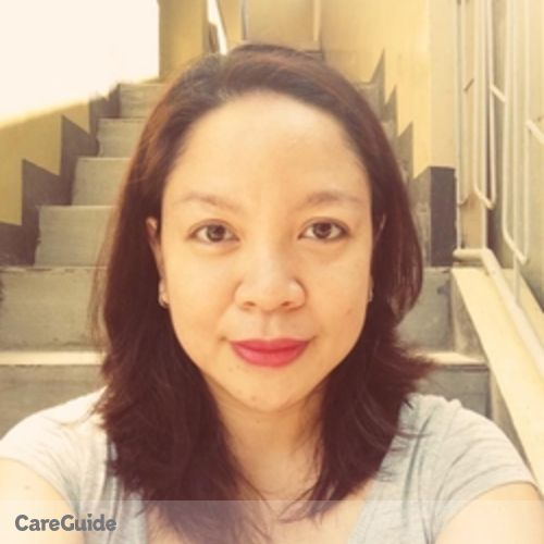 Canadian Nanny Provider Gayle Cecilia Gauran's Profile Picture