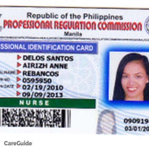 Canadian Nanny Provider Airizh Anne Delos Santos's Profile Picture