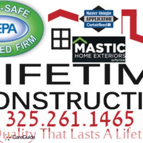 Painter Provider Lifetime Warranty Construction's Profile Picture
