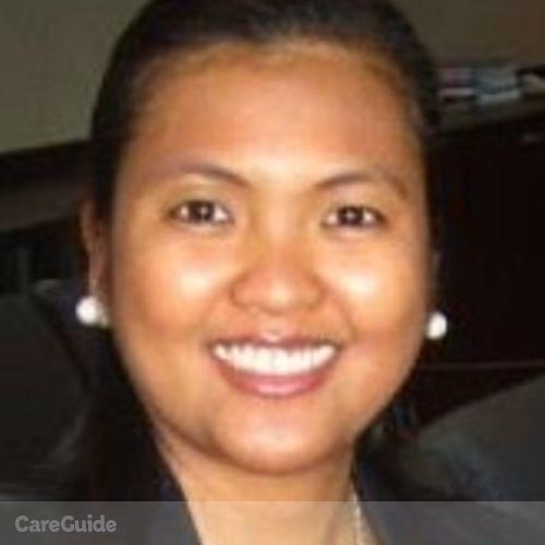 Canadian Nanny Provider Joann Villanueva's Profile Picture