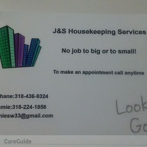 Housekeeper Provider Jamie C's Profile Picture