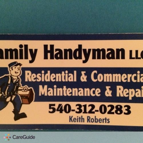 Handyman Provider Keith R's Profile Picture