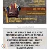 1st Choice Maintenance & Renovation