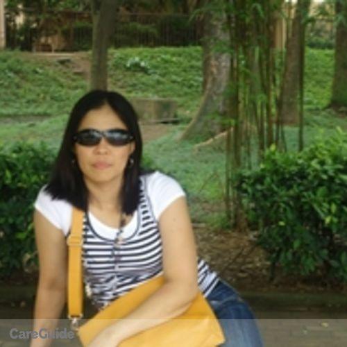 Canadian Nanny Provider Mirasol Bibat's Profile Picture