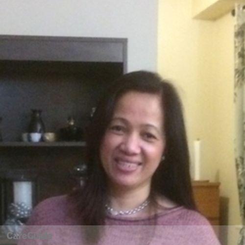 Canadian Nanny Provider Gloria A's Profile Picture
