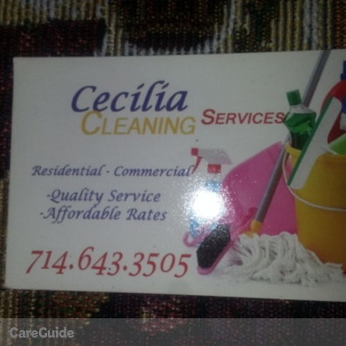 Housekeeper Provider Cecilia I's Profile Picture