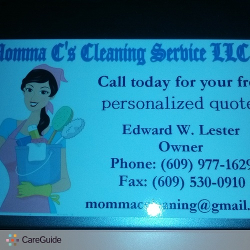 Housekeeper Provider Edward Lester's Profile Picture
